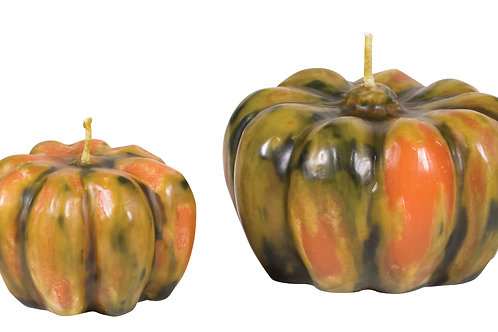 Multicolored Pumpkin Candle
