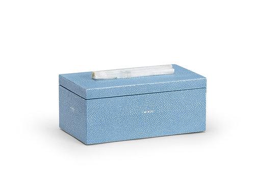 #10515 Faux Shagreen Selenite Box (Medium)
