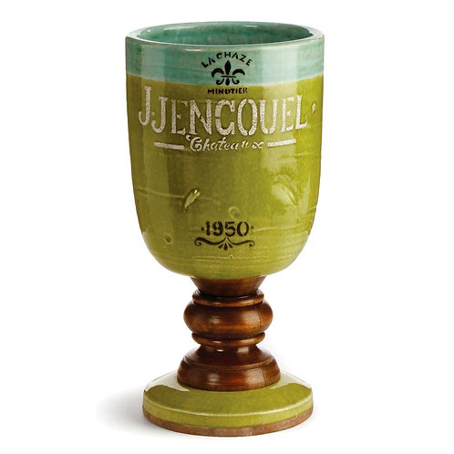 #4293 Château Footed Chalice