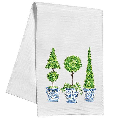 #11755 Ivy Topiary Trio Towel