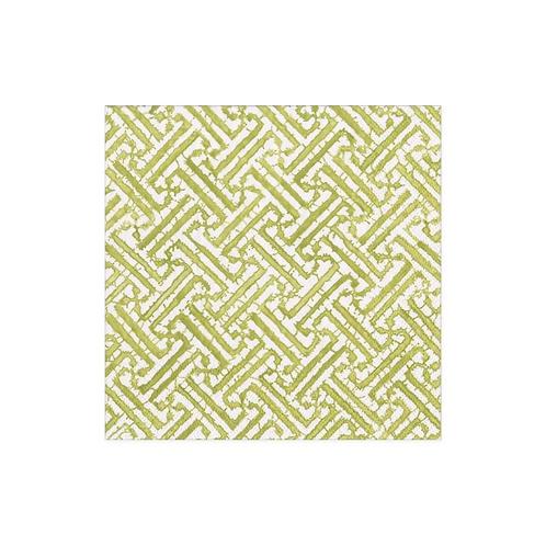 #11736 Cocktail Napkin (Fretwork Green)