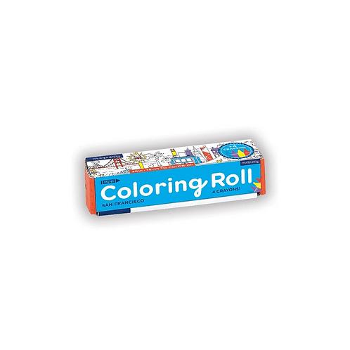 #6351 San Francisco Mini Coloring Roll