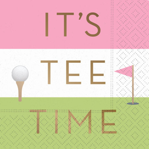 #10111 It's Tee Time Napkins