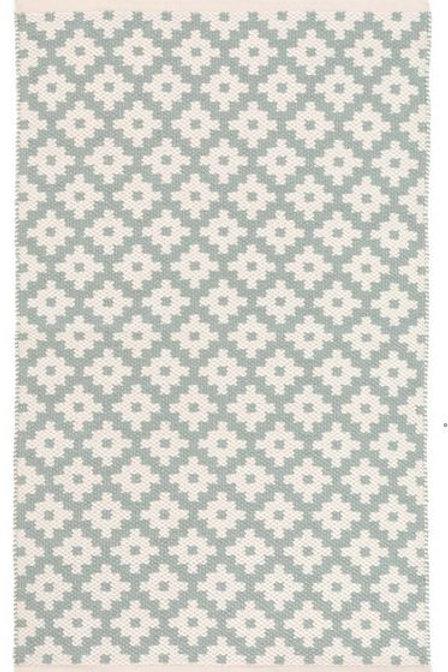 #12068 Samode Rug (Light Blue/Ivory)