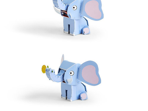 #11662 Animal 3-D Puzzle (Elephant)