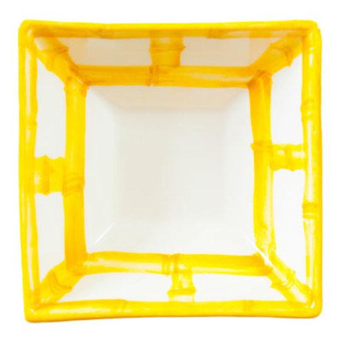 #4104 Yellow Bamboo Dip Cup