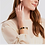 Thumbnail: #11929 Palladio Enamel Hinge Bracelet (Mulberry)