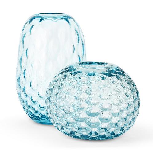 Dimpled Glass Vase/Bowl
