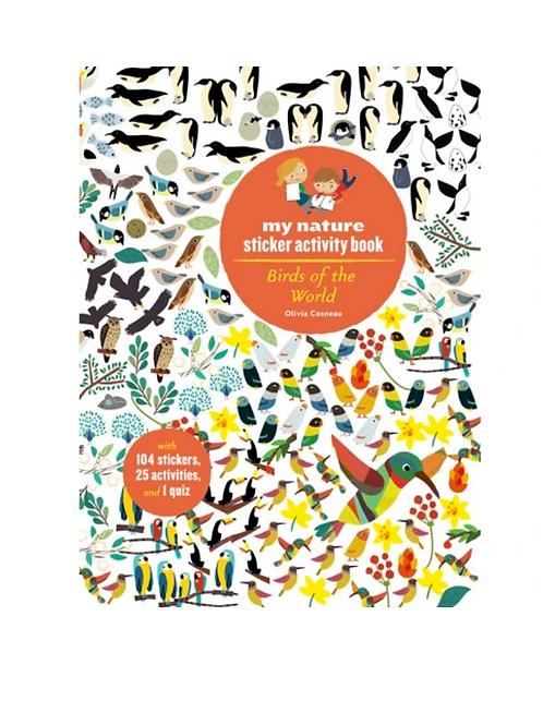 #8182 Birds of the World Activity Book