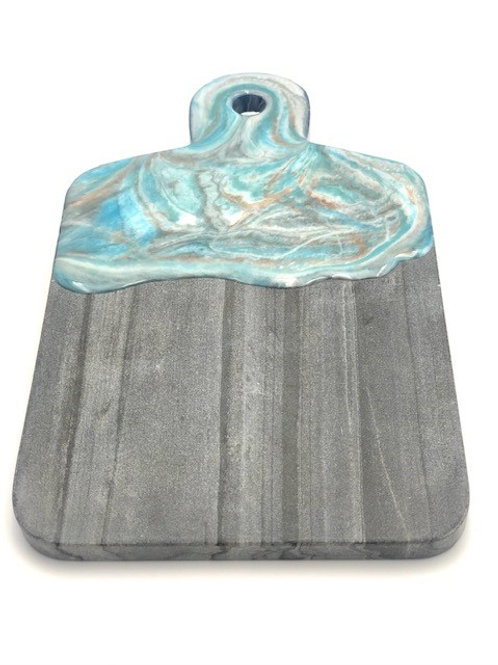 #10309 Small Marble Board (Blue/Gold)