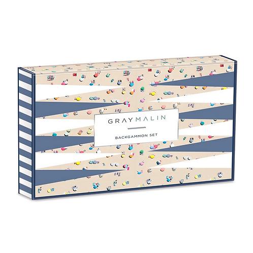 #9833 Gray Malin Backgammon