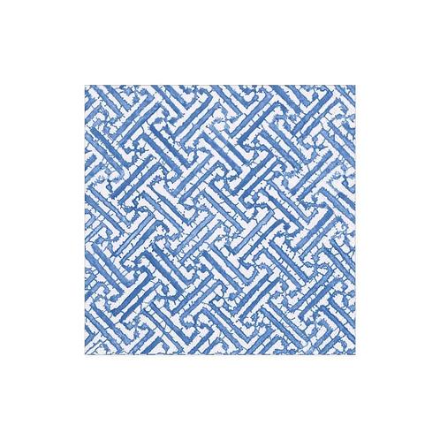 #11737 Cocktail Napkin (Fretwork Blue)