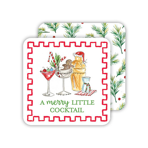 #10148 Merry Little Cocktail Coasters