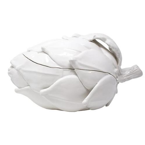 #10973 Artichoke Tureen (White)