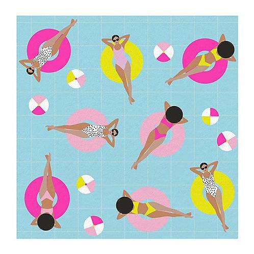 #11795 Pool Girls Napkin
