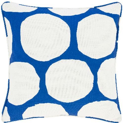 #12103 On the Spot Pillow (Cobalt)