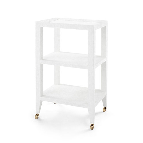 #11984 Tiered Side Table on Castors