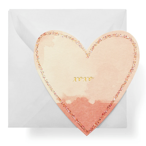 #8360 Heart XOXO Gift Enclosure