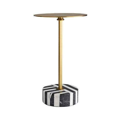 #10293 Marble Base Side Table