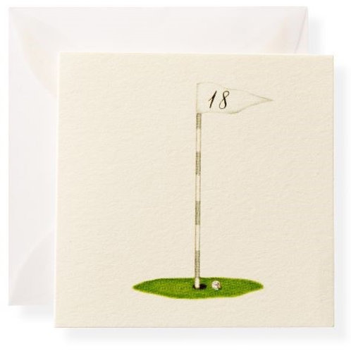#5066 Tee Flag Gift Enclosure