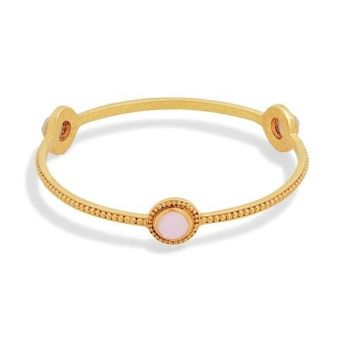 #7602 Florentine Rose Bangle, MED