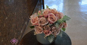 NFDディプロマ取得、アーティフィシャルコース参加作品「バラの花束」