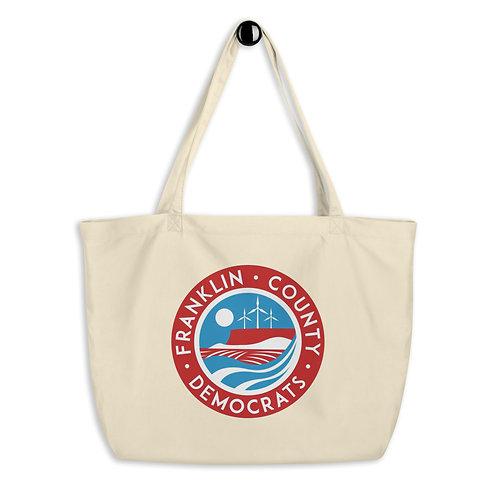 FranCo Large organic tote bag
