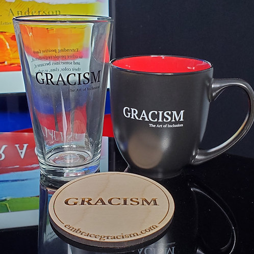 GRACISM Glass, Mug, Coaster