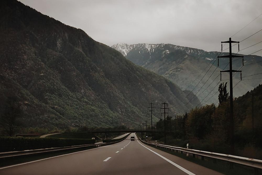 Borkeberlin Roadtrip to Tessin
