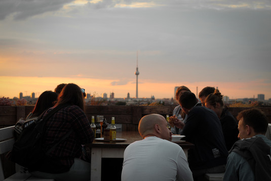 Borkeberlin Berlin Sundown