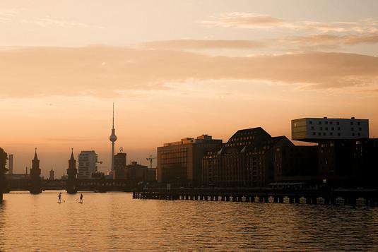 Borkeberlin Berlin Skyline