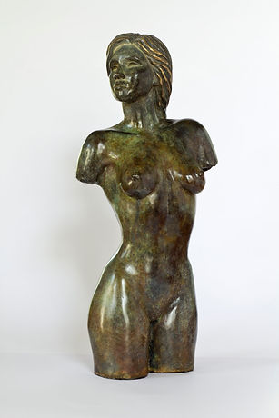 art bronze sculpture Woman figurative nude by Catherine Anderson