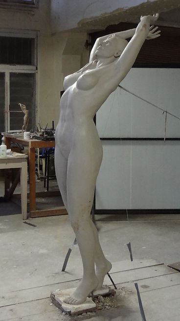 Catherine Anderson original fine art bronze scupture figurative lady