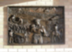 art bronze sculpture relief Queensland Ambulance Service by Catherine Anderson