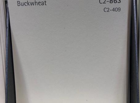 It's Buck Wheat.  TWO Words!