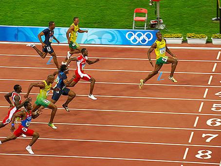 Usain Bolt and Me!