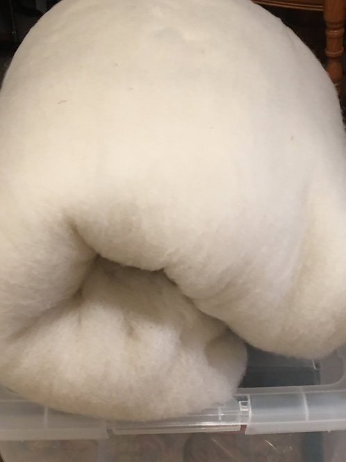 """Batting - Alpaca 75% & Wool 25%  45 X 72"""""""