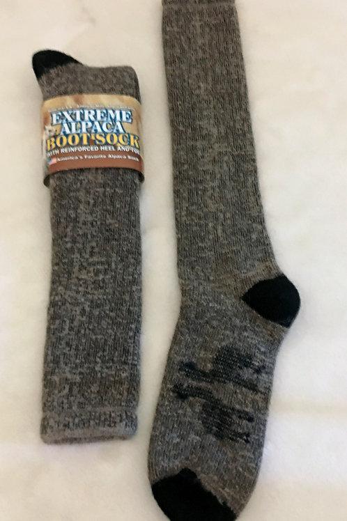 Extreme Alpaca  Boot Sock