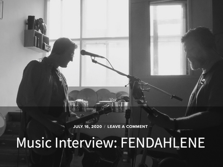 Getting our interview mojo back with FV Music Blog