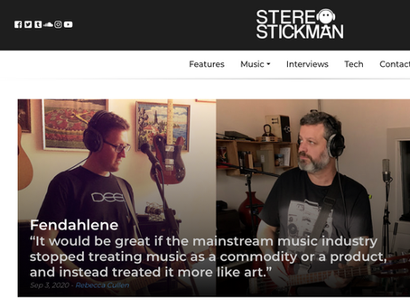 Paul's interview with Stereo Stickman