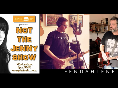 Our interview on Not The Jenny Show