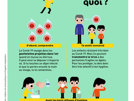 Pour parler du coronavirus à vos élèves