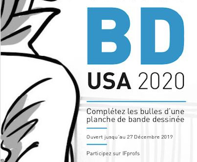 Succès au Concours BD USA 2020 !