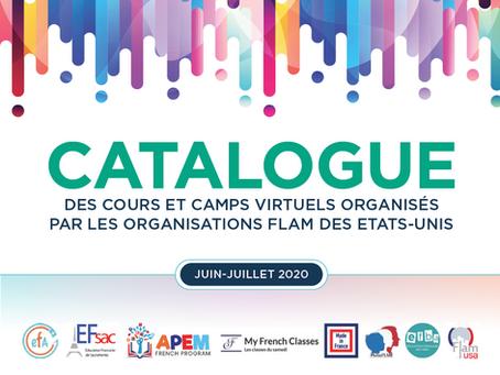 Pour un été FLAM et branché ! Des camps et ateliers virtuels pour garder son français et s'amuser !