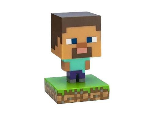 Figurka svíticí Minecraft - Steve