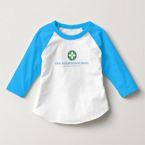 Toddler 3/4 Sleeve Raglan Tee Shirt