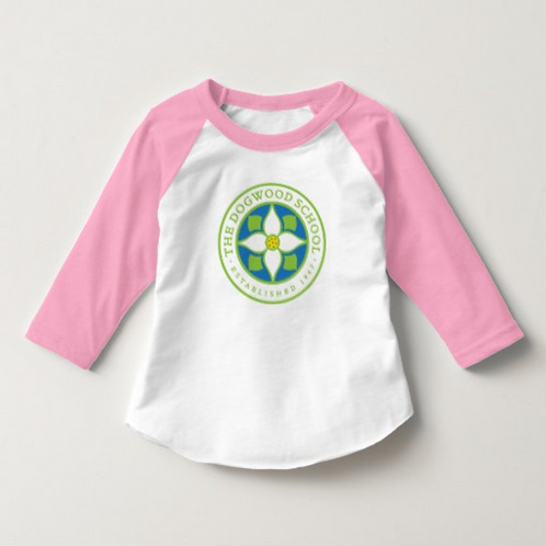 Toddler 3/4 Sleeve Raglan Tee Shirt 2