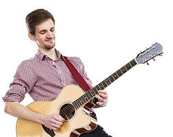Adult Guitar Student - Music Lessons