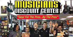 musicians discount center staff hello