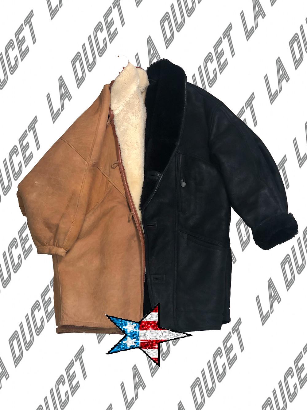 Nos gustaría proponerte looks tanto de día como Noche con este abrigo tan over size pero con mucho rollo.